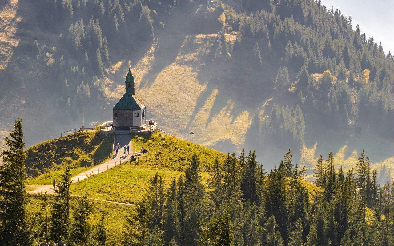 Chapel on Wallberg Mountain