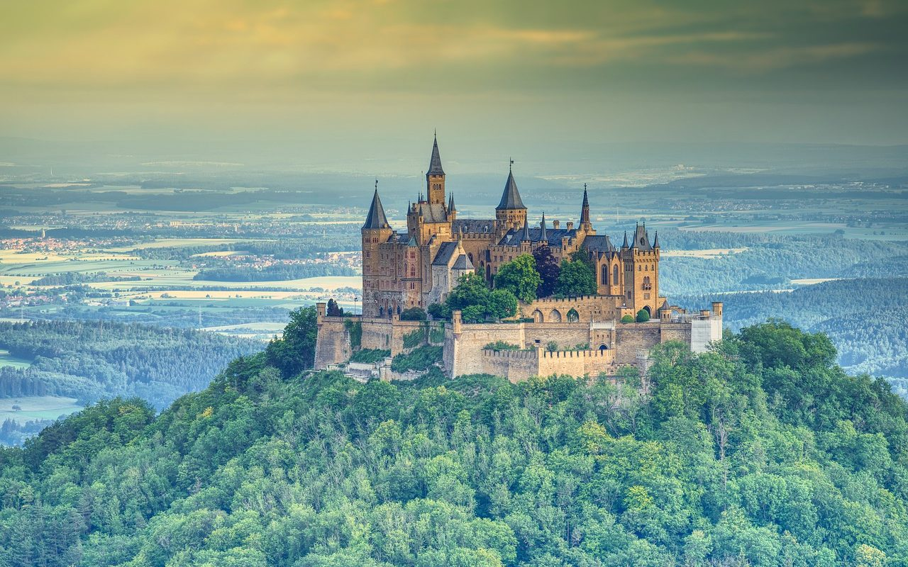 Burg Hohenzollern, Baden-Württemberg, Germany
